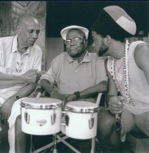 Carlinhos Brown, Mestre Pintado do Bongô y Bebo Valdés